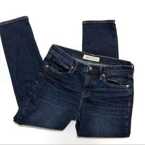 """Gap 1969 """"Best Girlfriend"""" Dark Wash Cropped Jeans"""
